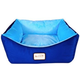 Armarkat Blue Bolster Pet Bed