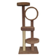 Toms Tower Four Tier Cat Tree w/Tunnel Tan