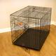 Majestic Single Door Wire Dog Crate 48x32x30