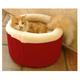 Majestic Cat Cuddler Pet Bed Medium Khaki