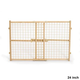 Midwest Wood and Wire Mesh Pet Gate 44 Inch