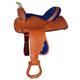 HH Saddlery Inlay Square Skirt Barrel Sdl 17 Blue