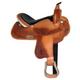 HH Saddlery Floral/Basket All Around Saddle 17