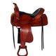 HH Saddlery Double Barb Basket Trail Saddle 17