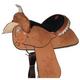 HH Saddlery Rose Square Skirt Barrel Saddle 17
