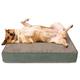 Buddy Beds Luxury Beach Blues Ortho Dog Bed Large
