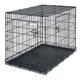 Petmate 2-Door Wire Dog Crate 43.4Lx29.3Wx31H