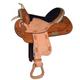 HH Saddlery Navajo DBL Skirt All Around Saddle 17