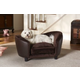 Enchanted Home Pet Snuggle Bed Brown Dog Bed