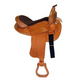 HH Saddlery Spot Oak Round Barrel Saddle 17