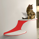 RefinedKind Cat Clouds Red Cat Shelf Right