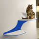RefinedKind Cat Clouds Blue Cat Shelf Right