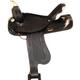 HH Saddlery Lighting Bolt Barrel Saddle 17