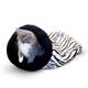 KH Mfg Self Warming Zebra Kitty Sack Cat Bed