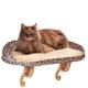 KH Mfg Deluxe Leopard Kitty Sill Window Cat Perch