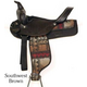 Wyoming Saddlery Cordura Trail Saddle 17 Southwest