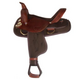 HH Saddlery Cordura Trail Saddle w/Brass 17