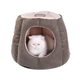 Armarkat Covered Laurel Green/Beige Cat Bed
