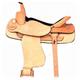 HH Saddlery Flat Seat Cutter Saddle 17