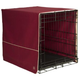 Pet Dreams Burgundy Classic Crate Cover X-Large