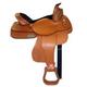 HH Saddlery Oak Tooled Reining Saddle 17