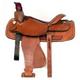 HH Saddlery Basket Corner Roper Saddle 17