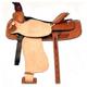 HH Saddlery Roughout Roper Saddle 17