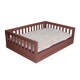 New Age Pet Russet Mission Style Raised Dog Bed