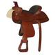 HH Saddlery Swept Back Padded Roper Saddle 17