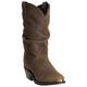 Dingo Mens Brussels Rnd Toe Brown Boots 9EE