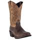 Laredo Mens Breakout Sq Toe 12in Boots 13EE Tan