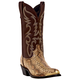 Laredo Mens Monty Pointed 12in Boots 13EE Gld