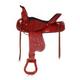 HH Saddlery Floral String Trail Saddle 17