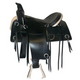 HH Saddlery Rawhide Large Square Trail Saddle 17
