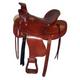 HH Saddlery Barb Tooled Wade Ranch Saddle 17