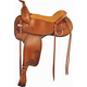 Tex Tan Hallelujah Wide Flex Trail Saddle 17in