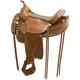 Tex Tan Butte Flex Trail Saddle 17in