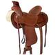 HH Saddlery Rope Tooled Wade Ranch Saddle 17