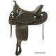 Tex Tan Norco Flex Wide Trail Saddle 17in Pecan