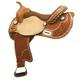 Tex Tan Floral Basket Barrel Saddle 15in