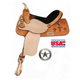 American Saddlery Jaguar Cross Barrel Saddle 16In