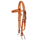American Saddlery Basketweave Browband Headstall