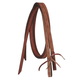 Silver Royal Barbwire Tooled Split Reins