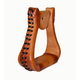 American Saddlery EX-Wide Leather Visalia Stirrups