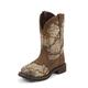 Justin Ladies Gypsy Steel Toe Camo Work Boots 11