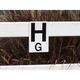 Burlingham Rail Letters Set of 12