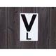 Burlingham Wall Letters Set of 12