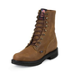 Justin Mens Steel Dbl Cmfrt Lacer Work Boots 12D
