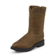 Justin Mens Dbl Cmfrt Pull On Work Boots