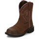 Justin Ladies Gypsy Steel Toe 8in Aged Work Boot